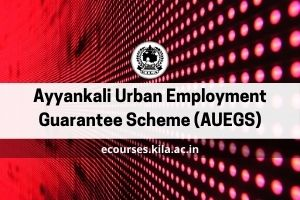 Ayyankali Urban Employment Guarantee Scheme (AUEGS)