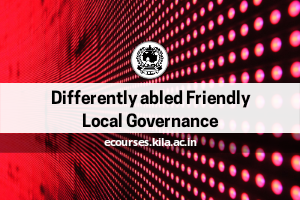 Differently abled Friendly Local Governance