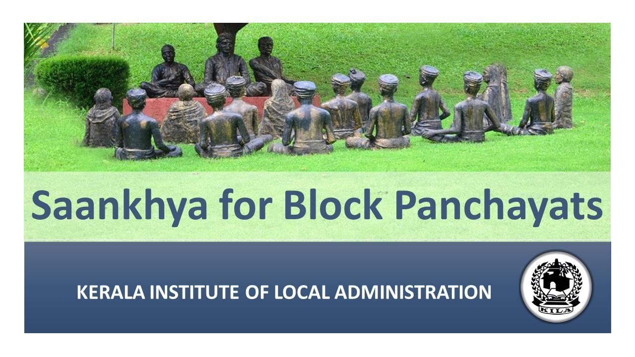 Saankhya for Block Panchayats